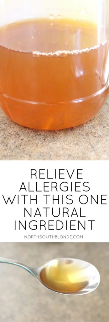 Relieve Allergy Symptoms With This One Natural Ingredient