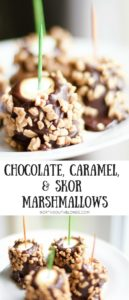 caramel chocolate skor marshmallows