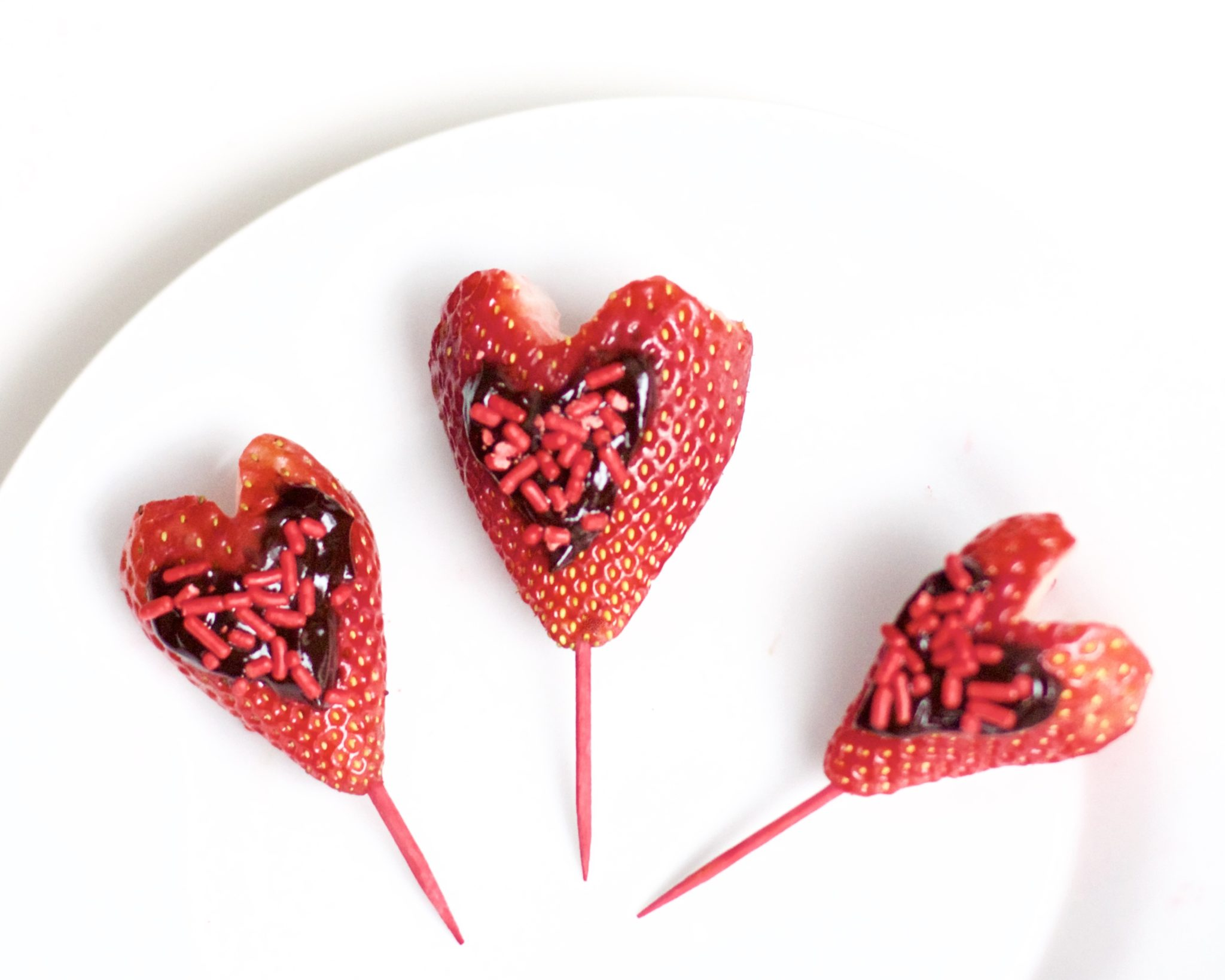Chocolate Strawberry Valentine's Day Hearts (Vegan, Gluten-Free)