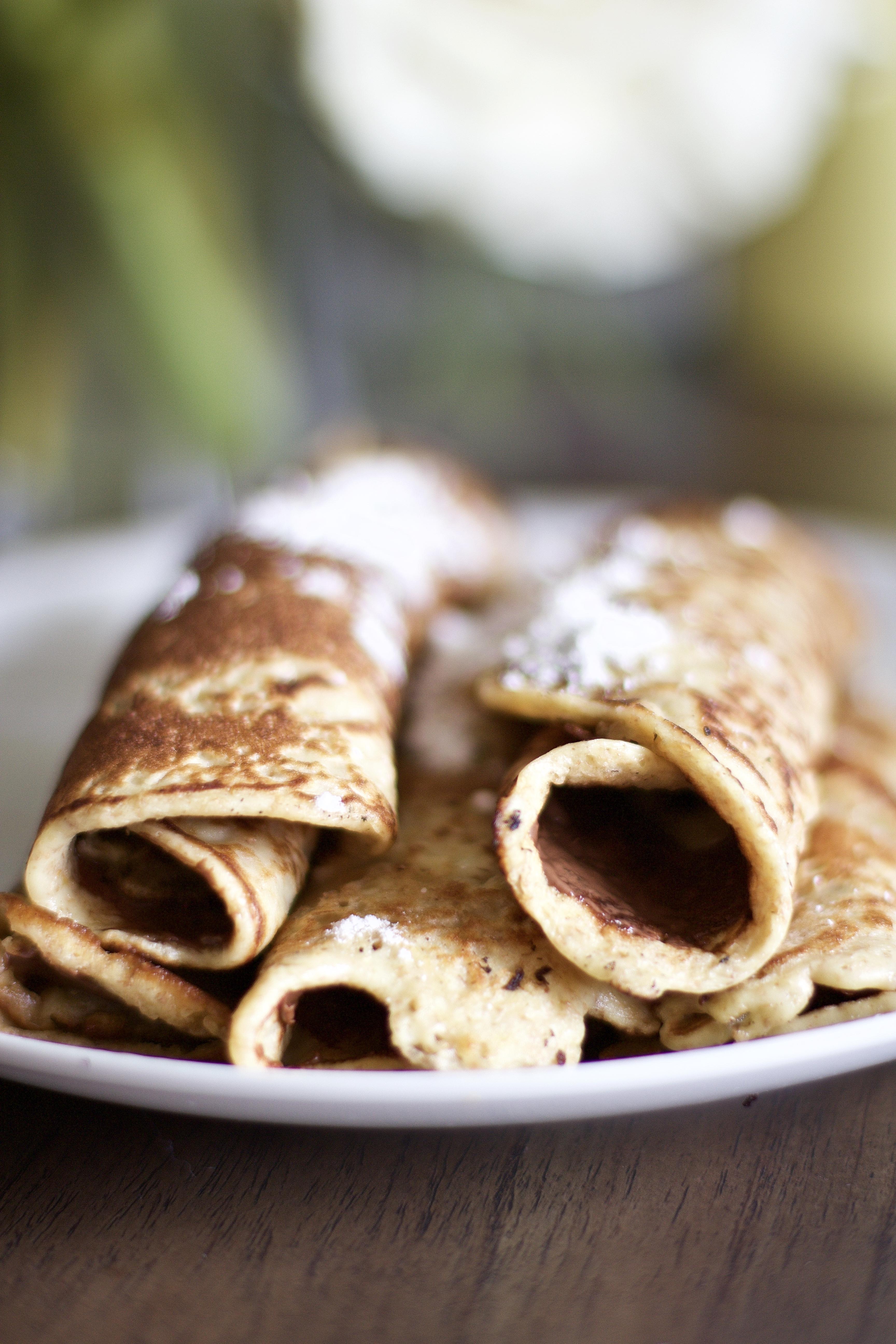 Gluten-Free Nutella Crepes