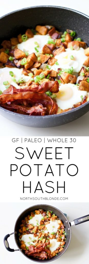 Sweet Potato Breakfast Hash (Gluten-Free, Paleo, Whole 30)