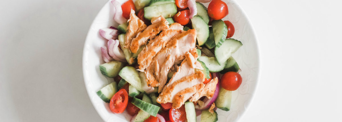 Grilled Salmon Cucumber Salad (Easy, Gluten-Free, Paleo, Whole 30)